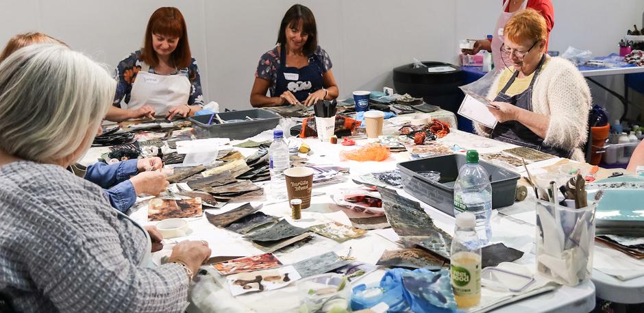 Festival of Quilts Workshops